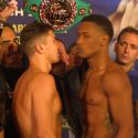 Video: Official Weigh-in: Gennady Golovkin: 159.6 lbs. vs. Daniel Jacobs: 159.8 lbs.