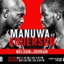 UFC Fight Night London Pesaje Oficial: Jimi Manuwa (205) vs Corey Anderson (205)