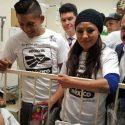 México / Visitan a 'Campeones de la vida'