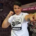 """Alejandra """"Tigre"""" Jimenez defenderá campeonato mundial de peso completo en el Zócalo"""