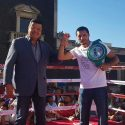 México / Gran ambiente en Ciudad Juárez para 'Sábados de Box'