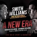 "Ex world title challenger Jimmy Kilrain Kelly: ""I boxed both Smith and Williams and it's going to 'erupt'!"""