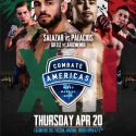 Combate Americas Adds Women's 105-Pound Bout, Completes Card for April 20