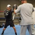 Mario Barrios (18-0, 10 KOs) back in the Bay Area training with Virgil Hunter