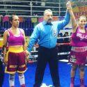 Karina Hernández noquea en velada de Grim Boxing