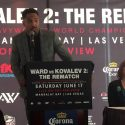 Video: WARD VS KOVALEV 2 NY PRESS CONFERENCE QUOTS AND FACE-OFF