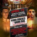 Gonzalez submits Dias in CES MMA 43 main event