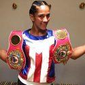 Amanda Serrano / A 4 libras del peso para su histórica pelea de título mundial