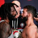 "Bellator 178 Weigh-In: Daniel Straus (145) vs. Patricio ""Pitbull"" Freire (144)"