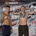 Pesaje Oficial: Martin Murray 159.3 lbs vs. Gabriel Rosado 159.2 lbs