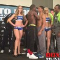 Video: Official Weigh-in: Andre Berto 146.5 vs. Shawn Porter 147
