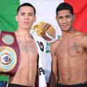 Pesaje Oficial: Oscar Valdez 125.6 vs. Miguel Marriaga 125.4