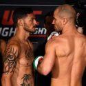 Pesaje Oficial, UFC Fight Night Nashville :Cub Swanson 145 lbs vs Artem Lobov 145 lbs