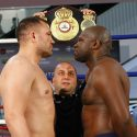 Pulev and Johnson weigh-in ready for WBA title clash