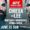 UFC brings rising stars Michael Chiesa and Kevin Lee to Oklahoma City