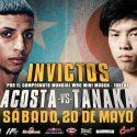 En vivo por DIRECTV la pelea de campeonato mundial de 'Tito' Acosta