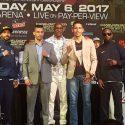 Sobre los combates de relleno en la Arena T-Mobile el 6 de mayo