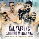 Kal Yafai defends WBA Super Flyweight title against Suguru Muranaka This Saturday, May 13th