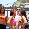 "Pesaje Oficial: Yessica ""La Kika"" Chávez  50.5kg vs. Ana ""La Bronca"" Arrazola 50.5 kg"