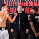 Official Bellator Welterweight Main Event Weigh-in: Rory MacDonald (170.1) vs. Paul Daley (170.8): Rory MacDonald (170.1) vs. Paul Daley (170.8)