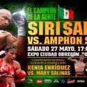 Mexicanos vs tailandeses, 'Siri' Salido vs. Amphon Suriyo… Guerra en el ring!!!