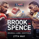 URRENT & FORMER WELTERWEIGHT CHAMPIONS WEIGH-IN ON KELL BROOK vs. ERROL SPENCE IBF 147-POUND WORLD CHAMPIONSHIP THIS SATURDAY LIVE ON SHOWTIME