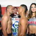 Pesaje Oficial: Orlando Salido 133.5 lbs. Vs Aristides Pérez 133.5 lbs.