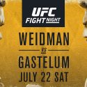 Weidman vs Gastelum in UFC's Long Island debut