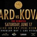 Andre Ward vs. Sergey Kovalev 2 Non-Televised Undercard Announced