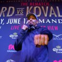 Ward and Kovalev make their Las Vegas arrivals