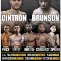 Kermit Cintron – Tyrone Brunson now for the Pennsylvania state junior middleweight title
