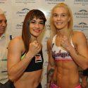 Tigresa Acuña y Shotgun O'Connell en peso para la cita del viernes en Caseros. TyC Sports 22:45 h