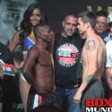 Official Weigh-in: Guillermo Rigondeaux 121.5 vs Moises Flores 122