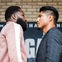 Adrien Broner and Mikey Garcia come face to face at New York Press Conference