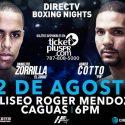 Abner Cotto-Danielito Zorrilla / De estelaristas el 12 de agosto en Caguas