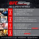 6th annual UFC International fight week™ takes over Las Vegas from July 5 – 8