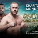 "Sensational heavyweight showdown announced for ""M-1 Challenge 81: Battle in the Mountains 6"" Sergei Kharitonov vs. Geronimo Dos Santos"