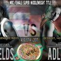 Claressa Shields, enfrentará a la campeona mundial supermedio WBC, Nikki Adler