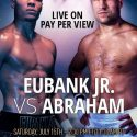 Chris Eubank Jr. vs. Arthur Abraham card broadcast
