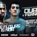 Dynamite Dubois targets first pro title at Copper Box Arena