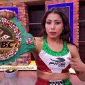 """'Kika' Chávez / """"Quiero ser la mejor en la historia del boxeo en México"""""""