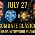 Combate Americas To Air Live on ESPN 3 on Thursday, July 27 From Miam