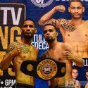 Sin problemas con la báscula los peleadores de la cartelera 'Directv Boxing Nights'