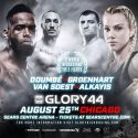 Glory brings two world title fights to Sears Centre Arena on Friday, AUG. 25