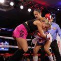 Amanda Serrano / Exitosa defensa del Campeonato Mundial Supergallo de la O.M.B.