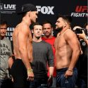 Pesaje Oficial UFC Long Island: Chris Weidman (186) vs Kelvin Gastelum (185.6)