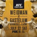 UFC Fight Night 25 – Weidman vs Gastelum Fight Pass and Prelims Fight Results