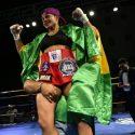 Dayana Cordero mantiene Cinto Mundial Interino Peso Gallo Femenino (A.M.B.)