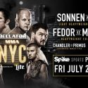 Spike Presents An Encore Presentation Of Bellator's Biggest Event Ever – Bellator NYC: Sonnen Vs. Silva
