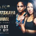 Invicta FC 25 fight card complete with nine scheduled bouts